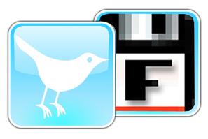 Porque Floppy, también Twittea...