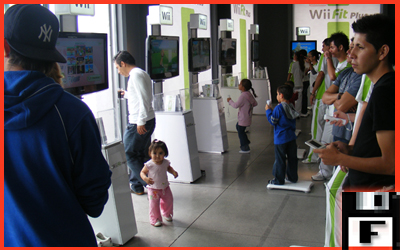 Queda claro que Wii es para todas las edades...
